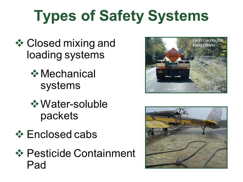 Types of Safety Systems