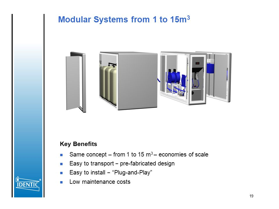 Modular Systems from 1 to 15m3