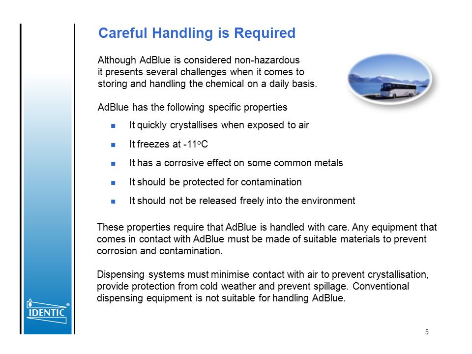Careful Handling is Required