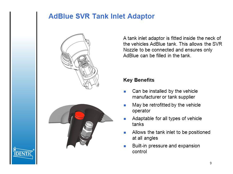 AdBlue SVR Tank Inlet Adaptor