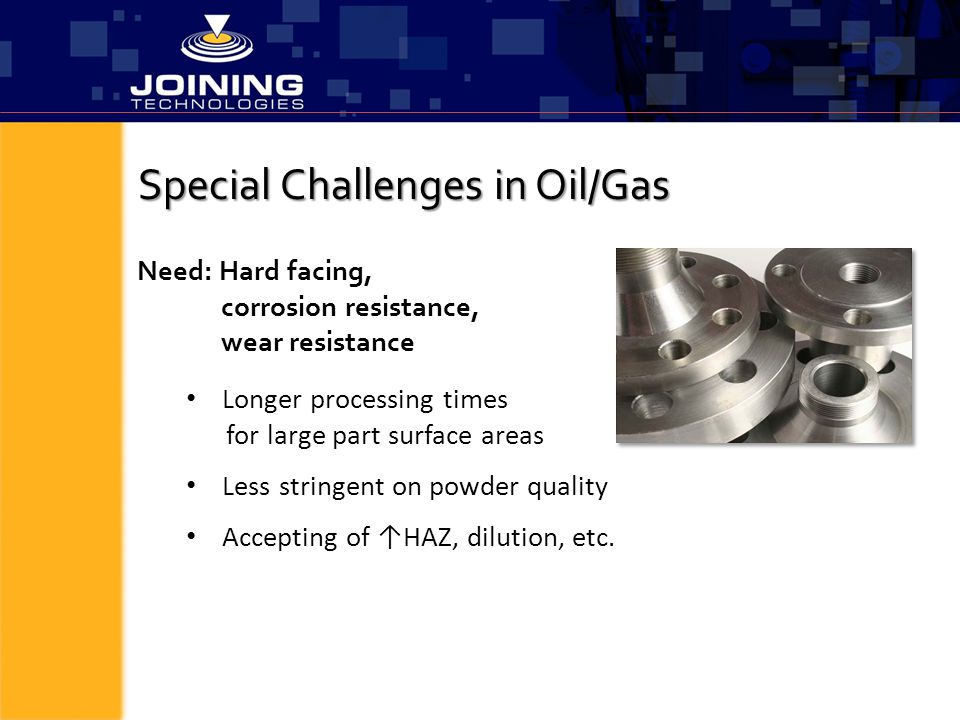 Special Challenges in Oil/Gas