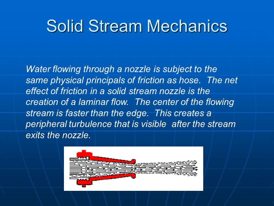 Solid Stream Mechanics