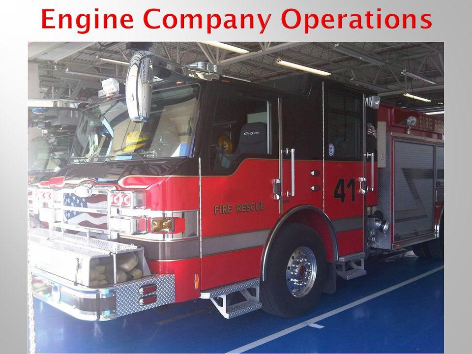 Engine Company Operations
