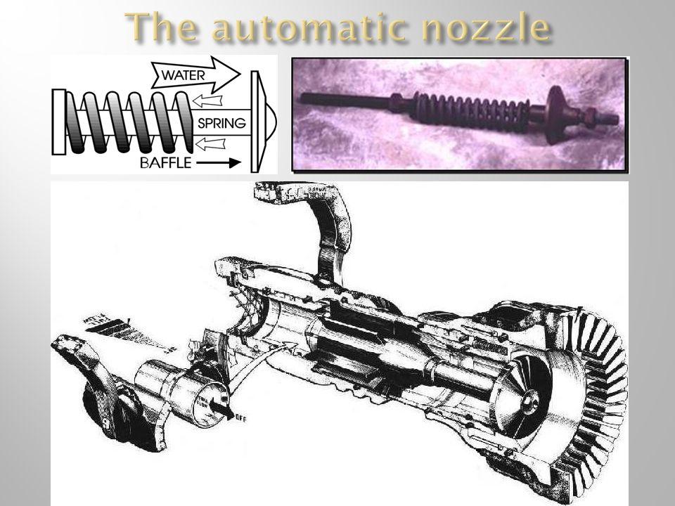 The automatic nozzle