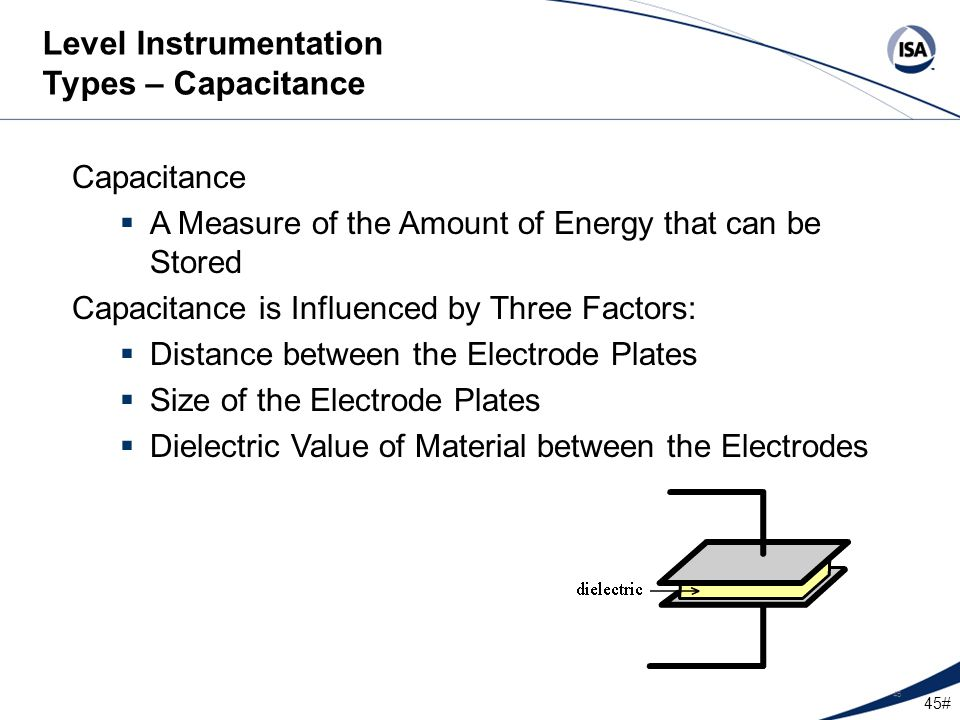 Level Instrumentation Types – Capacitance