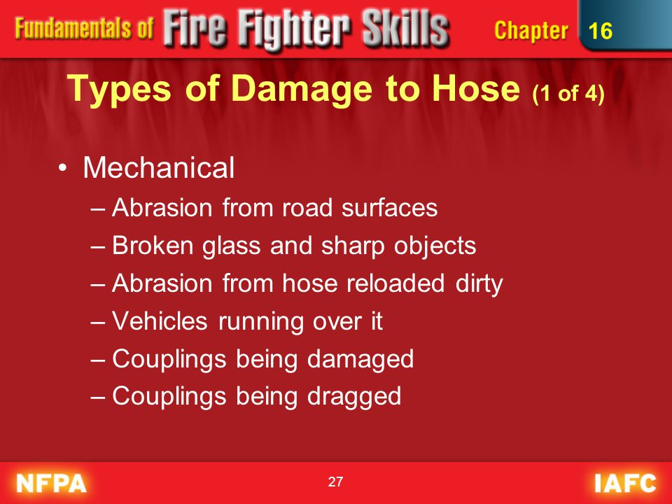Types of Damage to Hose (1 of 4)