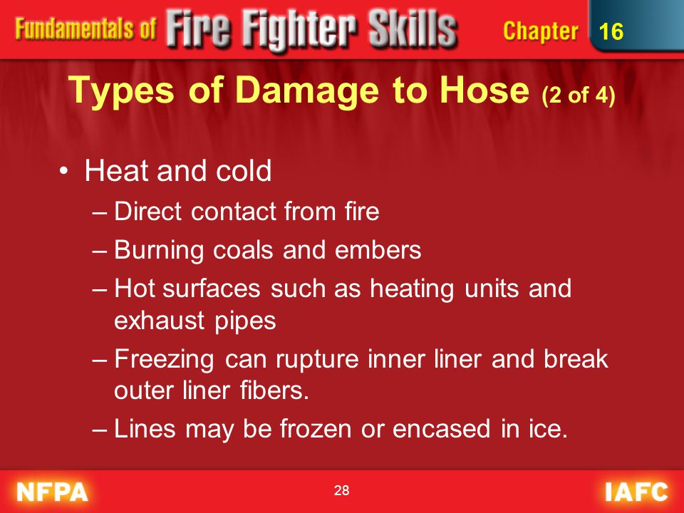 Types of Damage to Hose (2 of 4)