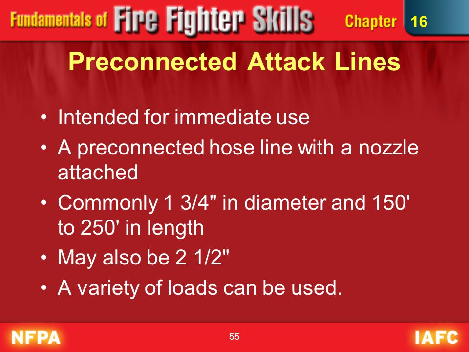 Preconnected Attack Lines