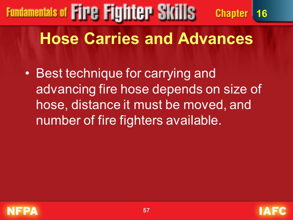 Hose Carries and Advances