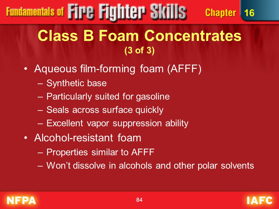 Class B Foam Concentrates (3 of 3)