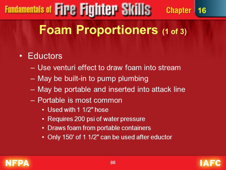 Foam Proportioners (1 of 3)