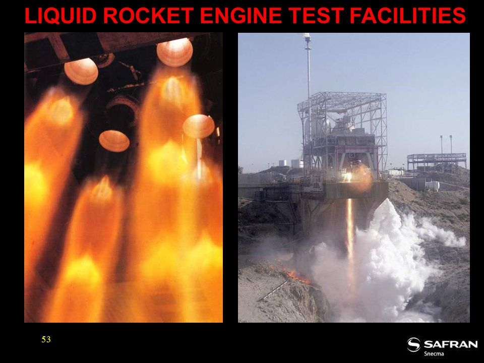 LIQUID ROCKET ENGINE TEST FACILITIES