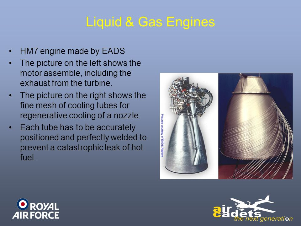 Liquid & Gas Engines HM7 engine made by EADS