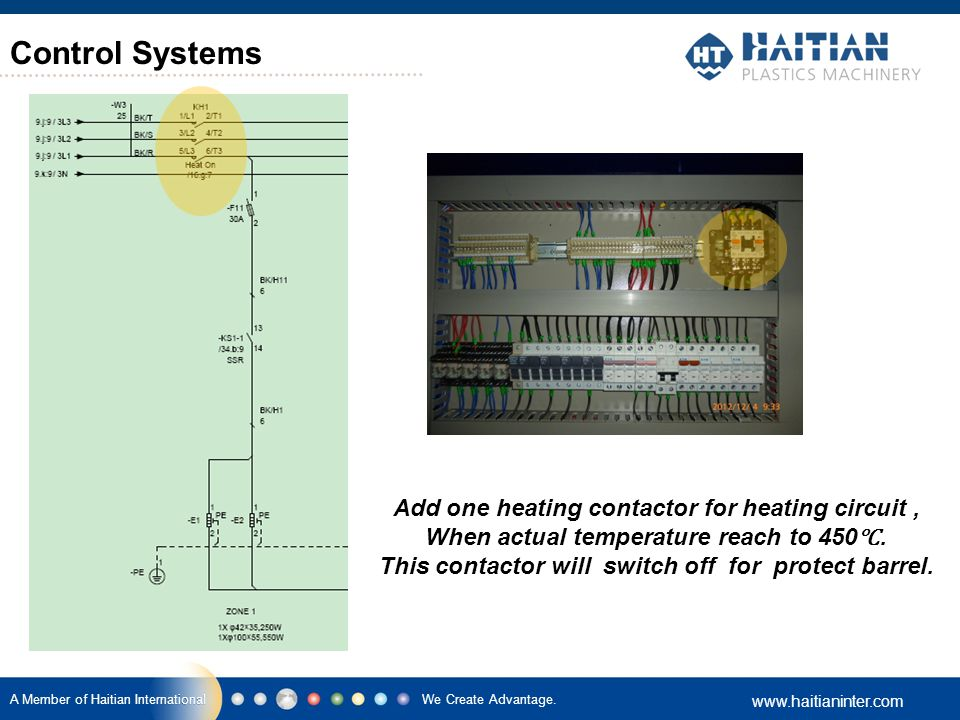 Control Systems Heating Circuit