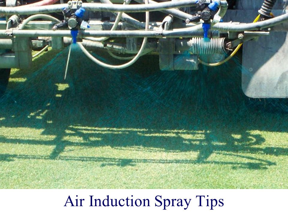 Air Induction Spray Tips