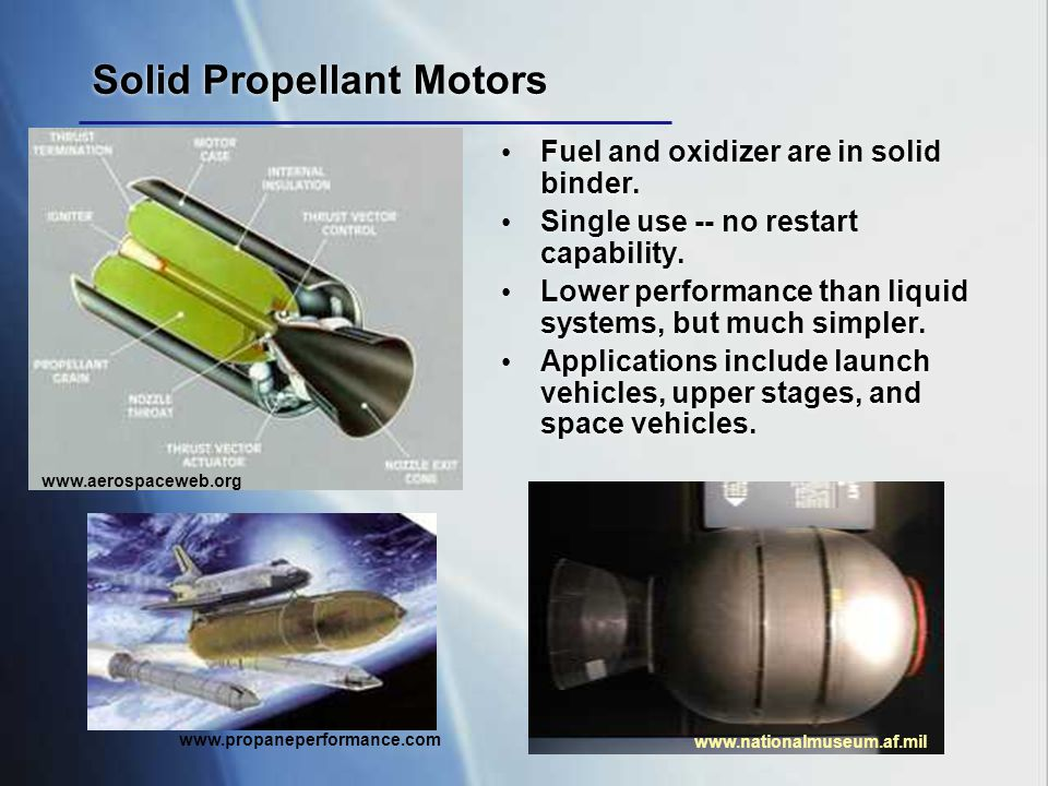 Solid Propellant Motors