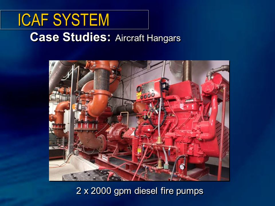 ICAF SYSTEM Case Studies: Aircraft Hangars