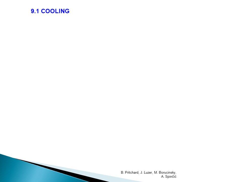 9.1 COOLING B. Pritchard, J. Luzer, M. Borucinsky, A. Spinčić