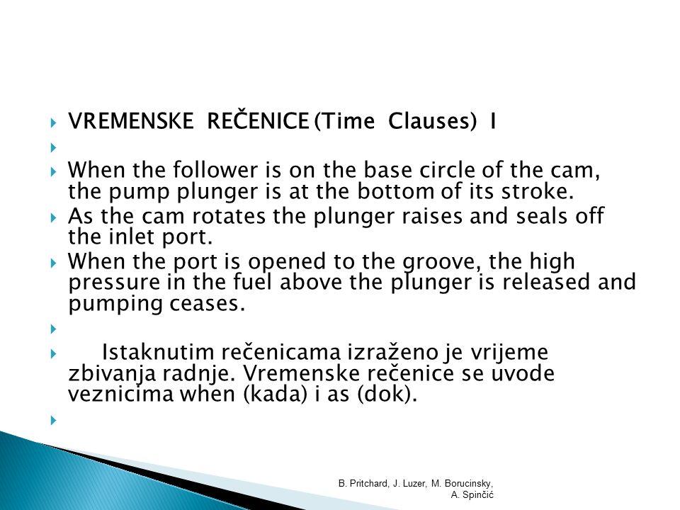 VREMENSKE REČENICE (Time Clauses) I