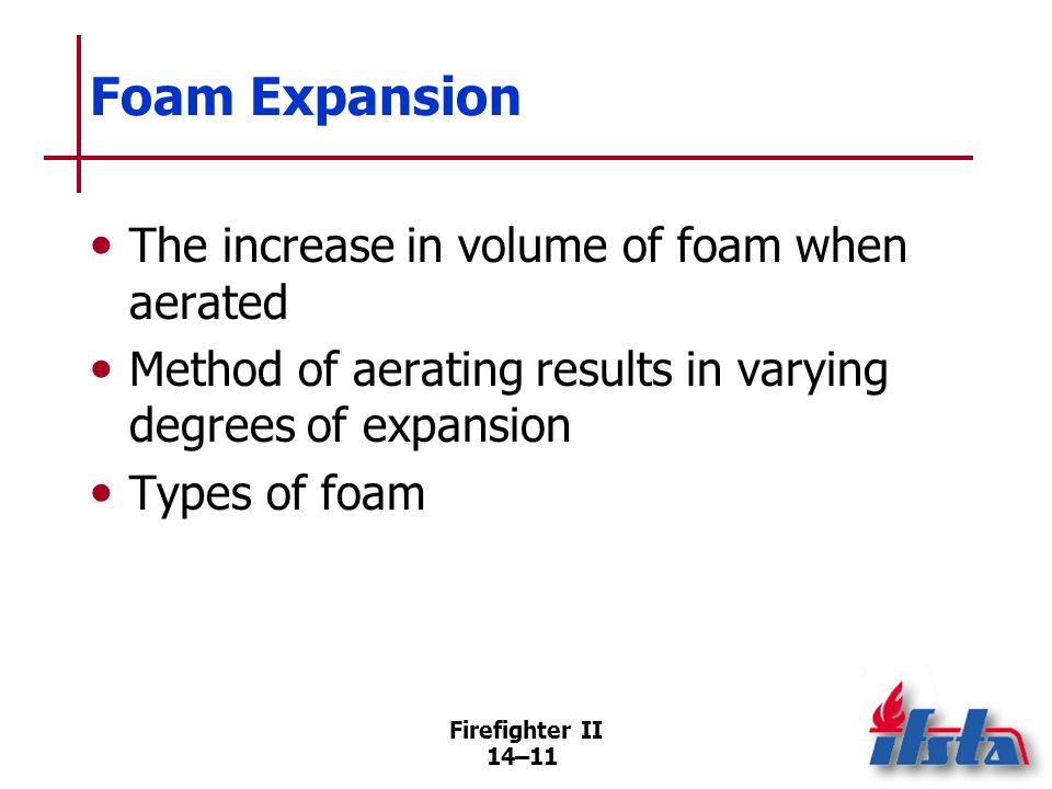 Foam Concentrates — General Considerations