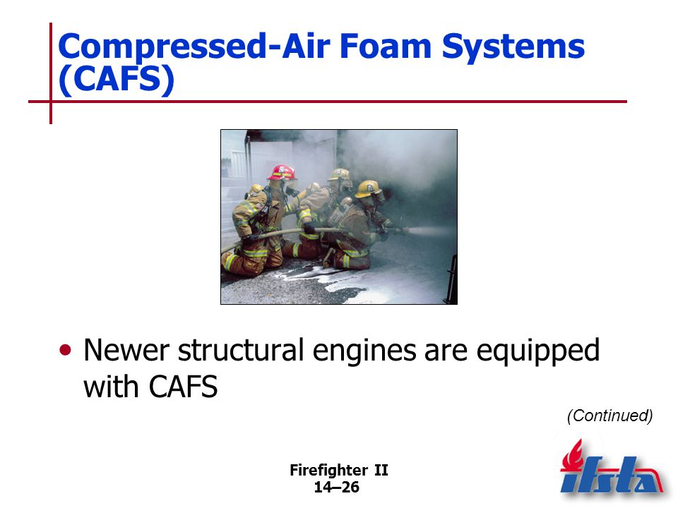 Compressed-Air Foam Systems (CAFS)