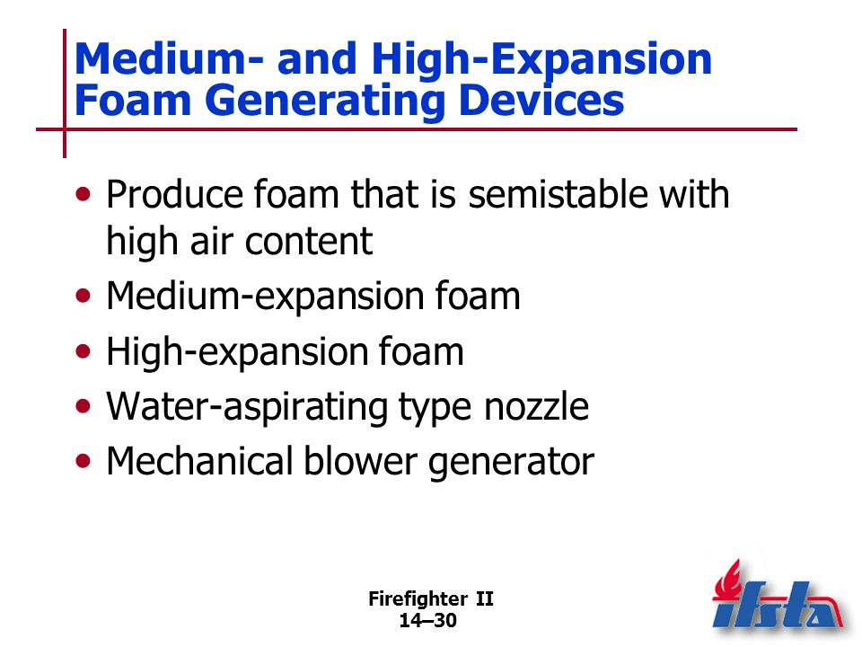 Reasons for Poor-Quality Foam/ Failure to Generate Foam