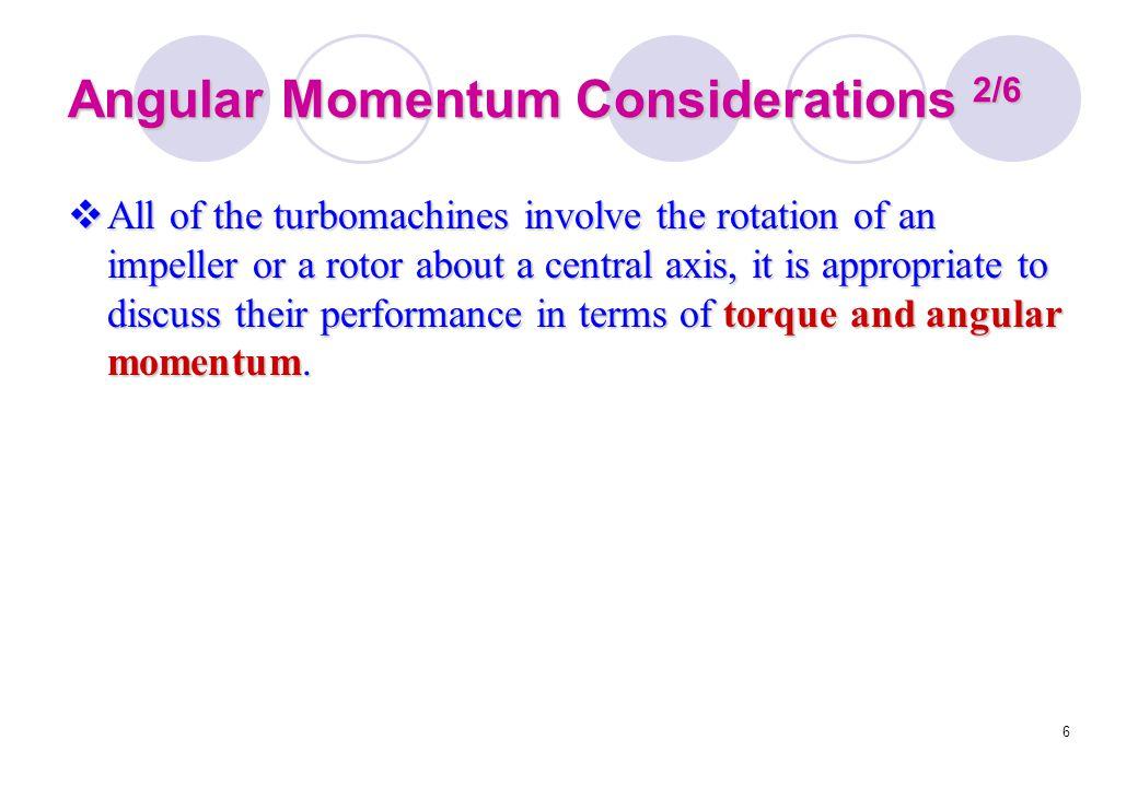 Angular Momentum Considerations 2/6