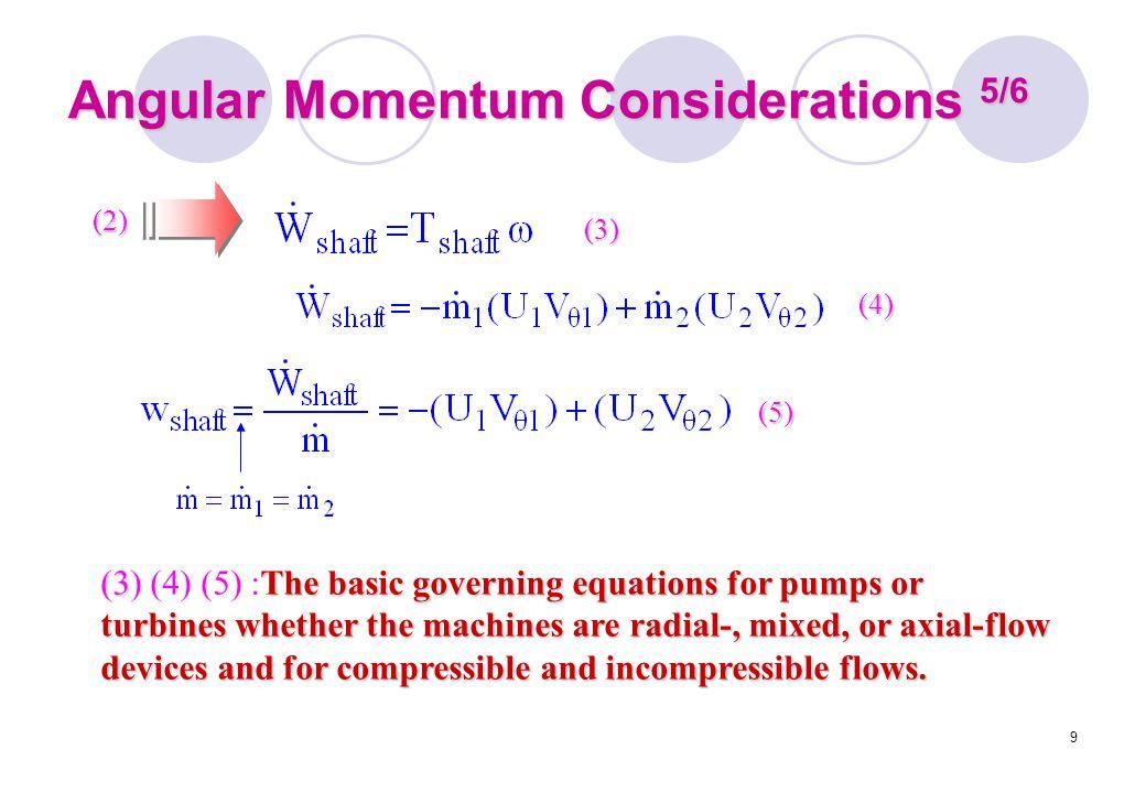Angular Momentum Considerations 5/6