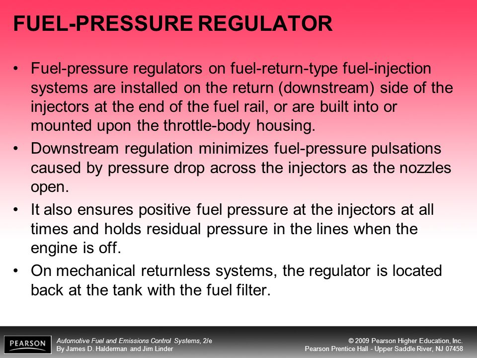 FUEL-PRESSURE REGULATOR