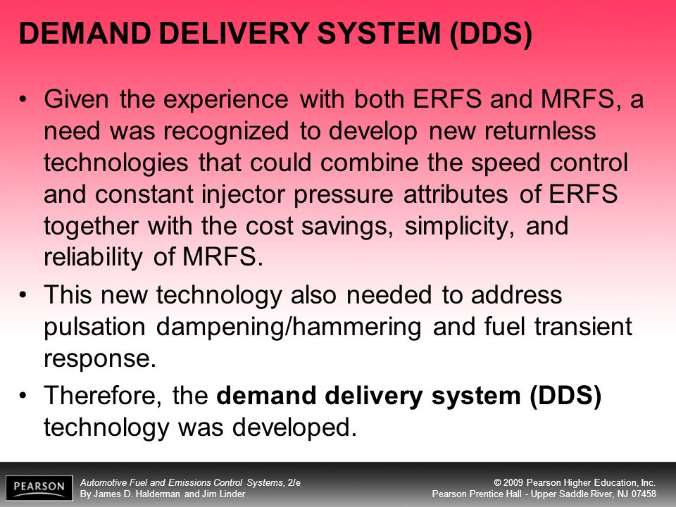 DEMAND DELIVERY SYSTEM (DDS)