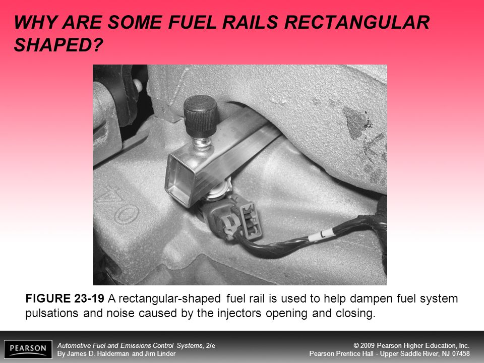 WHY ARE SOME FUEL RAILS RECTANGULAR SHAPED
