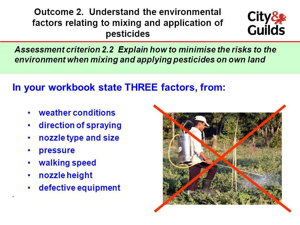 In your workbook state THREE factors, from: