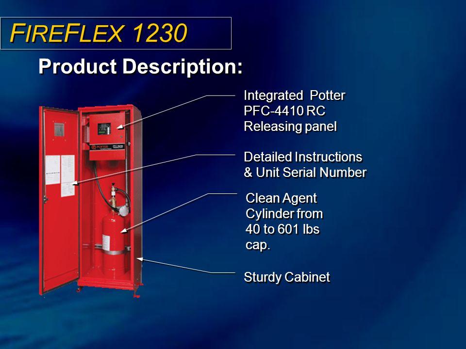 FIREFLEX 1230 Product Description: