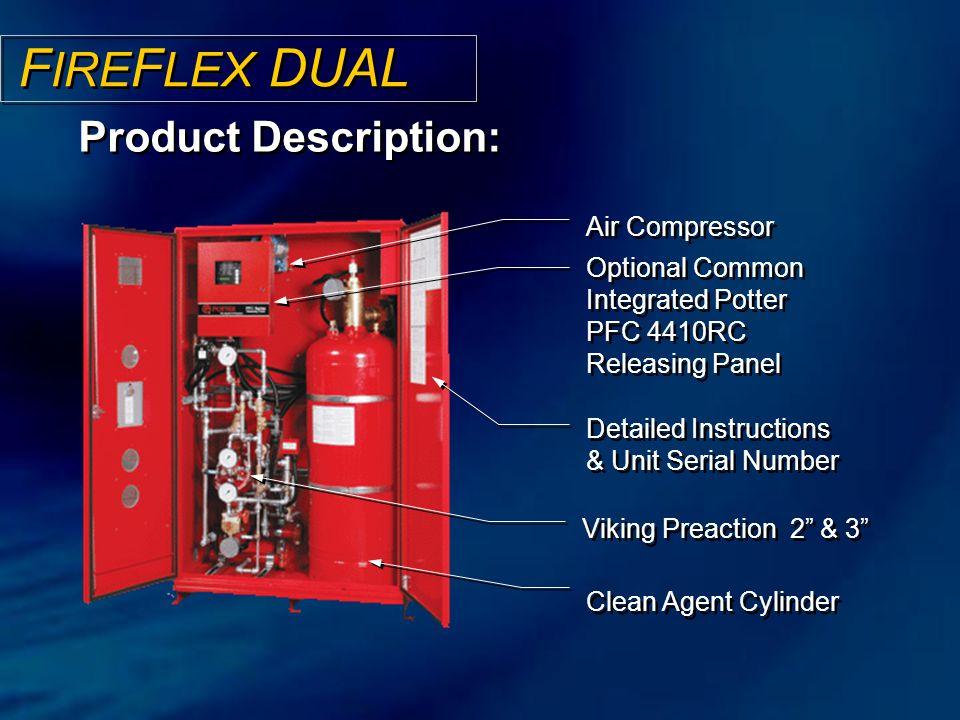 FIREFLEX DUAL Product Description: Air Compressor
