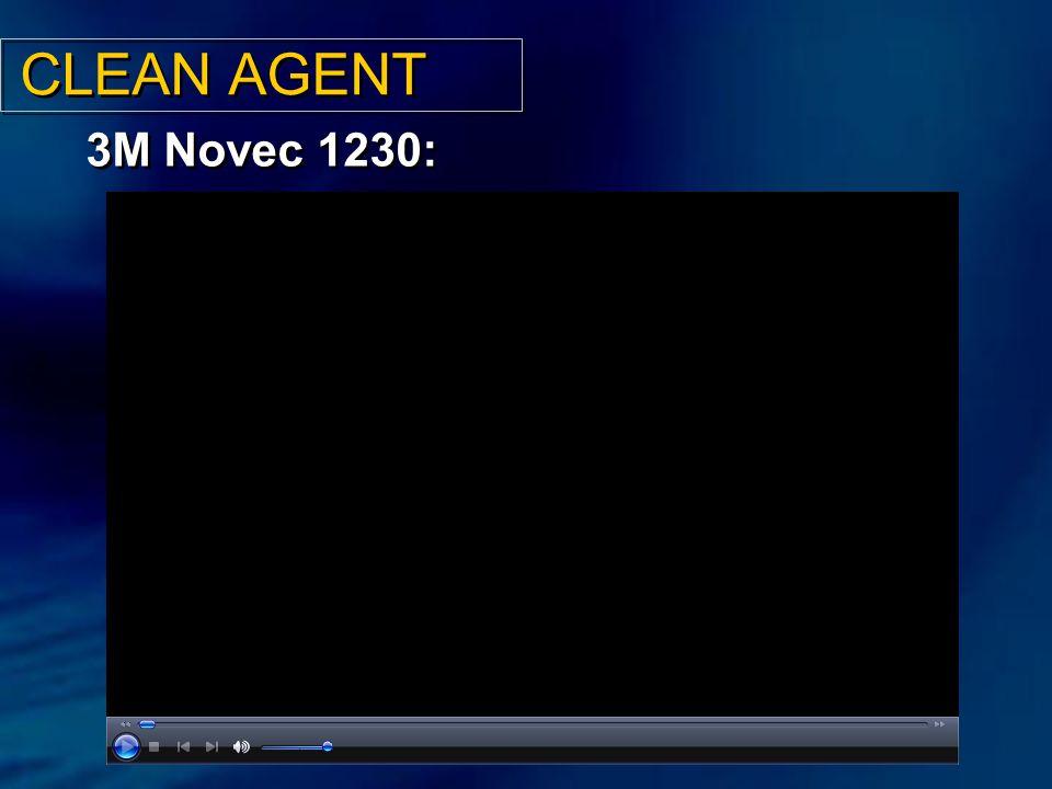 CLEAN AGENT 3M Novec 1230: