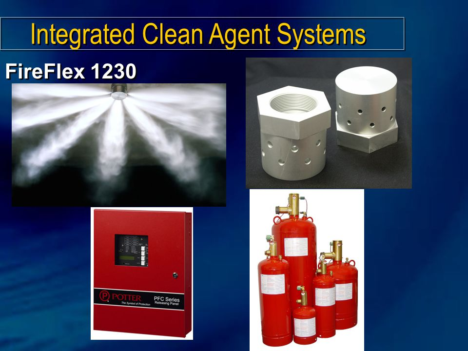 Integrated Clean Agent Systems