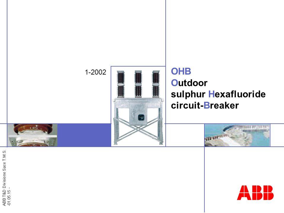 OHB Outdoor sulphur Hexafluoride circuit-Breaker