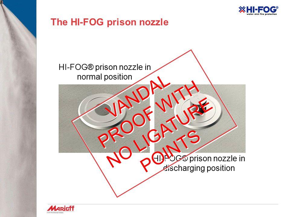 The HI-FOG prison nozzle