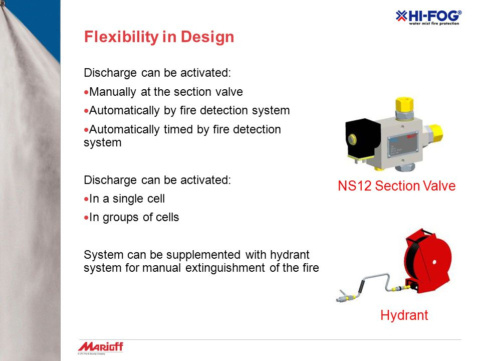Flexibility in Design NS12 Section Valve Hydrant