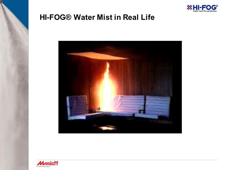 HI-FOG® Water Mist in Real Life