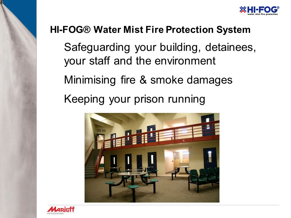 HI-FOG® Water Mist Fire Protection System
