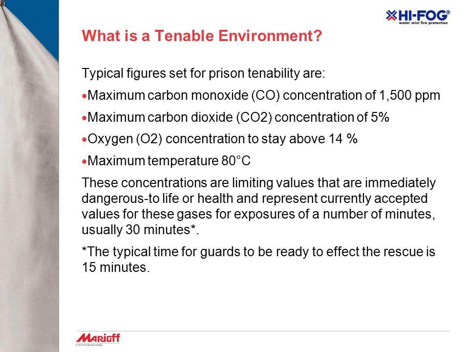 What is a Tenable Environment