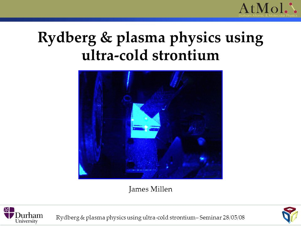 Rydberg & plasma physics using