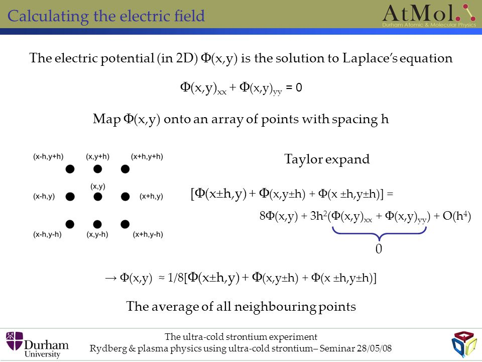 Calculating the electric field