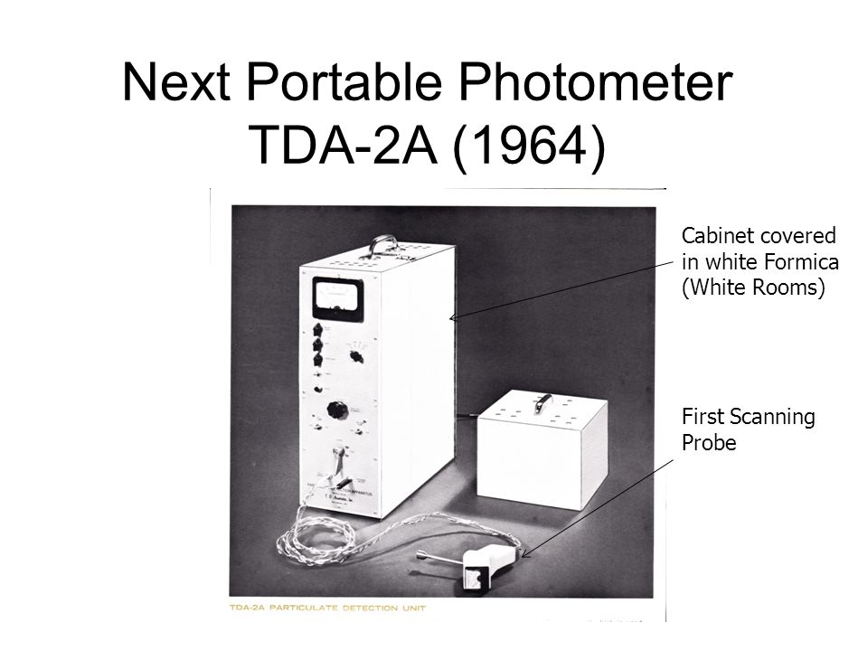 Next Portable Photometer TDA-2A (1964)