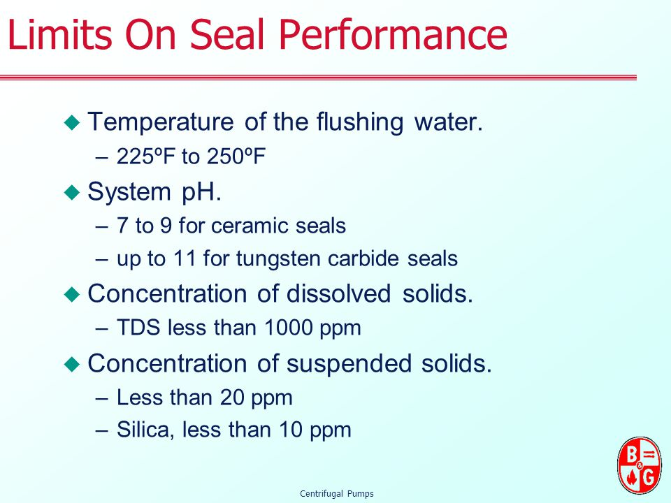 Limits On Seal Performance
