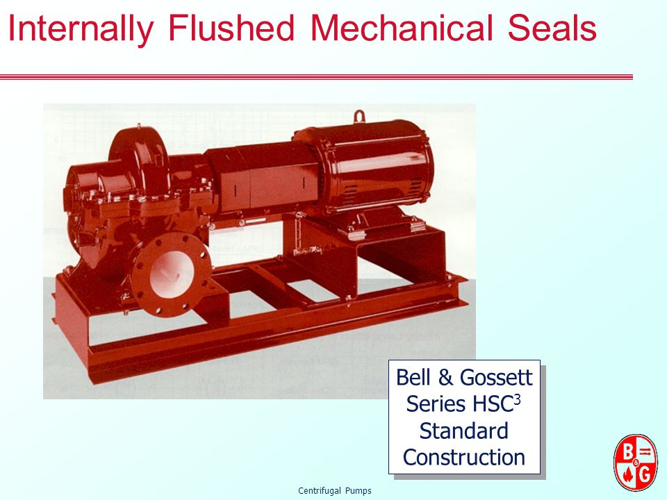 Internally Flushed Mechanical Seals