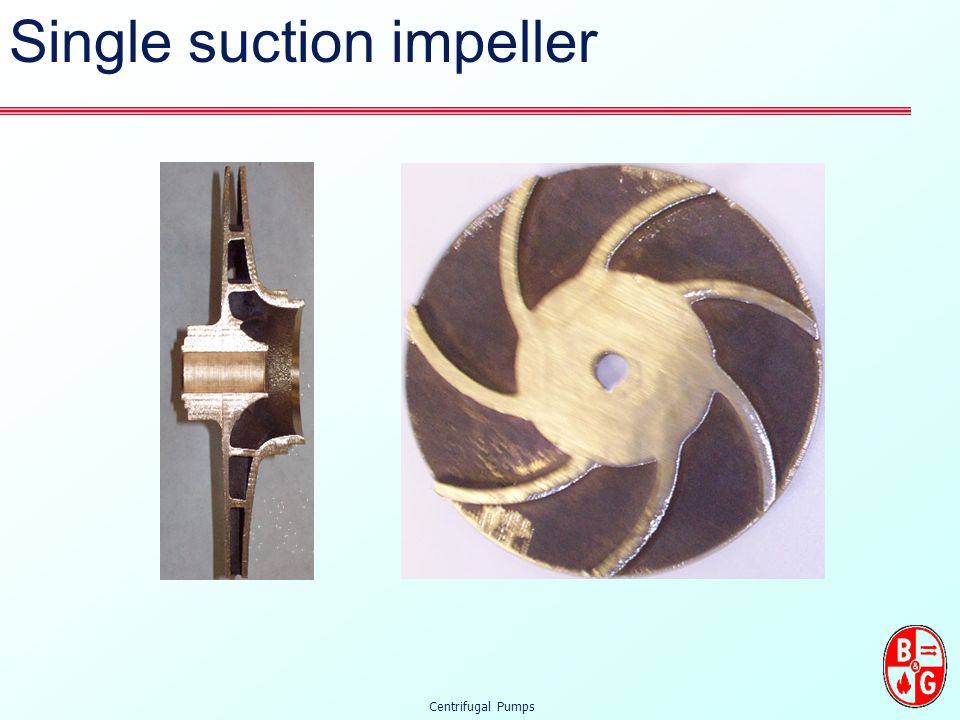 Single suction impeller
