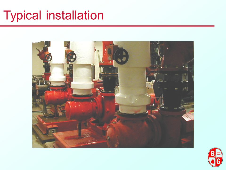 Typical installation BELL & GOSSETT LEADS THE SUCTION DIFFUSER MARKET WITH THE MOST COMPLETE LINE OFFERED TODAY.
