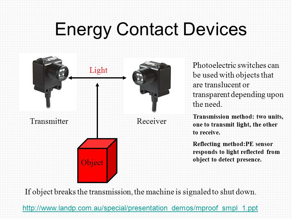 Energy Contact Devices